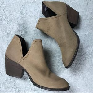 Steve Madden Adelphie Leather Western Ankle Boot